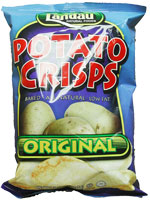 Landau Kosher Potato Crisps Baked Original 1 Oz.