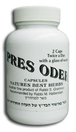 Natures Best Herbs Kosher Pres Oder 60 Capsules