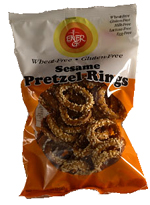 Ener-G Foods Kosher Sesame Pretzel Rings Wheat & Gluten Free 2.65 Oz.