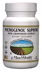 Maxi Health Kosher Maxi Pycnogenol Supreme with Grapeseed Extract 60 Maxicaps