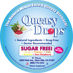 Three Lollies Kosher Queasy Drops Sugar Free 21 Drops
