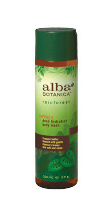 Alba Botanica Rainforest Cupuacu Bodywash 8 OZ