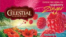 Celestial Seasonings Kosher Raspberry Zinger 20 Bag