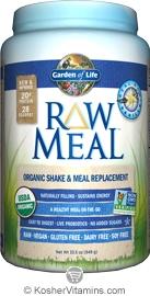 Garden of life kosher organic vegan raw meal protein powder vanilla 2 lb for Garden of life raw protein vanilla