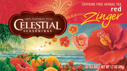 Celestial Seasonings Kosher Red Zinger 20 Bag