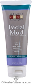 Redmond Kosher Clay Facial Mud 4 OZ