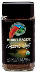 Mount Hagen Kosher Organic Coffee 3.53 OZ