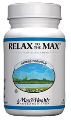 Maxi Health Kosher Relax To The Max 120 Vegicaps