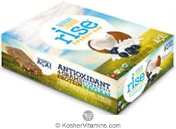 Rise Kosher Energy+ Bar Coconut Acai Dairy 12 Bars