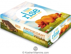 Rise Kosher Energy+ Bar Apricot Goji Dairy 12 Bars