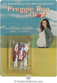 Three Lollies Kosher Preggie Pop Drops - Free with a $49 Purchase 1 Piece