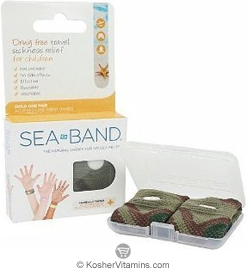 Sea Band Drug Free Travel Sickness Relief Wristband for Children 1 Pair