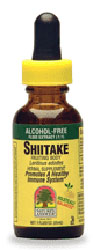 Natures Answer Kosher Shiitake (Mushroom) Alcohol Free 1 OZ.