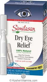 Similasan Dry Eye Relief Single-Use 20 Pack