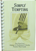 Morris Press Cookbooks Simply Tempting 1 Book