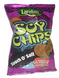 Landau Kosher Soy Chips Touch O' Salt 1 OZ