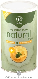 Genisoy Kosher Soy Protein Shake Natural Flavor 16 OZ