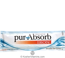 Spatone Kosher Pur-Absorb Iron Liquid 1 Packet