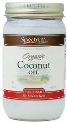Spectrum Kosher Organic Expeller Pressed Coconut Oil UnRefined 14 OZ