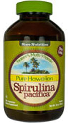 Nutrex Hawaii Kosher Pure Hawaiian Spirulina Pacifica Powder 16 OZ