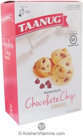 Taanug Kosher Homestyle Chocolate Chip Cookies Gluten Free  7 OZ