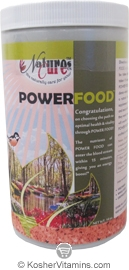 Natures Cure Kosher Power Food Multi Vitamin and Mineral Powder 14 OZ