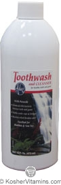 Adwe Kosher Toothwash and Gum Cleanser 16 OZ