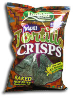 Landau Kosher Blue Tortilla Crisps 1 Oz.