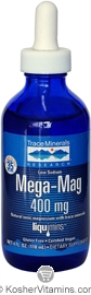 Trace Minerals Research Kosher Mega-Mag 400 Mg 4 OZ