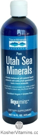 Trace Minerals Research Kosher Utah Sea Minerals 16 OZ