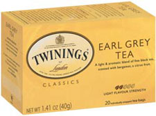 Twinings Kosher Earl Grey Tea 20 Tea Bags