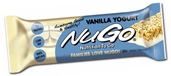 NuGo Nutrition Kosher Nutrition To Go 11g Protein Bar Vanilla Yogurt Dairy 15 Bars