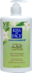 Kiss My Face Moisturizer Vitamin A & E 16 OZ