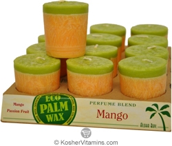 Aloha Bay Votives Perfume Blend Mango 12 Candles