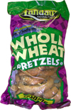 Landau Kosher Whole Wheat Pretzels- Sesame Salted 8 Oz.
