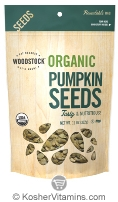 Woodstock Kosher Organic Pumpkin Seeds 11 OZ