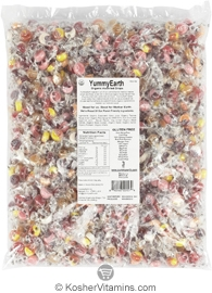 YumEarth Organics Kosher Candy Drops Assorted Bulk 5 LB