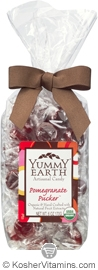 YumEarth Organics Kosher Candy Drops Pomegranate Pucker 6 OZ