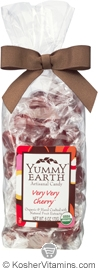 YumEarth Organics Kosher Candy Drops Very Very Cherry 6 OZ