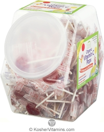 YumEarth Organics Kosher Lollipops Vitamin C Counter Bin 30 OZ