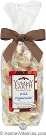 YumEarth Organics Kosher Candy Drops Wild Peppermint 6 OZ