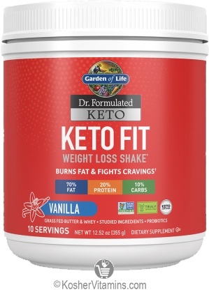 Garden of Life Kosher Dr. Formulated Keto Fit Weight Loss ...