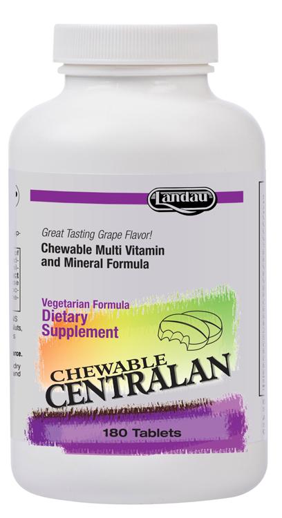 Landau Kosher Centralan Multi Vitamin/Mineral Chewable ...