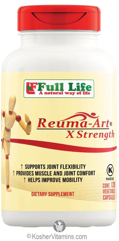 Full Life Kosher Reuma-Art X Strength 120 Vegetable
